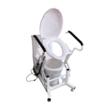 Кресло для туалета подъемным устройством стационарноеMIRID LWY001