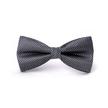 STK Краватка-метелик чорний в смужку