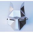 STK Маска Лиса papercraft серебро