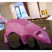 STK Крыса 3Д модель papercraft