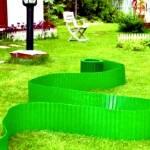 Реализуем бордюр садовый пластиковый