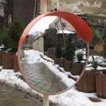 Купить уличное зеркало безопасности UNI 450 cap по оптимальной цене