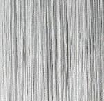 Шторы-нити люрекс (белый с серебром)
