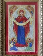 """Купуйте схему для вишивання ікони """"Покрова Пресвятої Богородиці"""" за доступною ціною"""