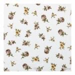 Недорого шторы в мелкий цветочек из натуральных тканей