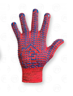 Перчатки трикотажные с точечным покрытием выгодно