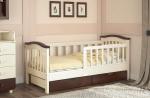 Детская кровать с высокими бортами