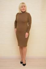 Прямі сукні для повних в діловому стилі