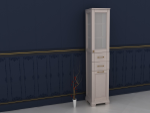 Дерев'яна шафа для ванної кімнати Київ купити вигідно