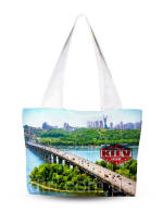 Красива тканинна сумка купити