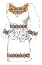 Заготовка сукні для вишивки бісером купити недорого