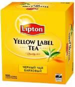Чай Липтон 100 пакетиков купить дешево