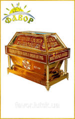 Гробница под плащаницу Спасителя и Богородицы!