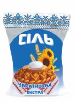 Сіль екстра фасована в упаковки 1 кг купити оптом