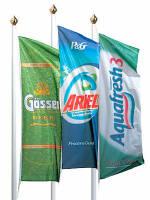 Вигідна пропозиція: рекламні прапори купити оптом!