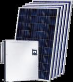 Мережеві сонячні електростанції різної потужності