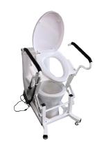 """Кресло для туалета с подъемным механизмом от компании """"Мирид"""""""