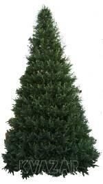 В наличии большая каркасная елка
