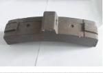 Вагонная тормозная колодка из чугуна - надежный выбор от качественного производителя.