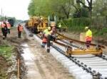 Производим капитальный ремонт железнодорожных путей по всей Украине