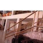 Перила, балконные и лестничные ограждения из нержавеющей стали с покрытием нитридом титана