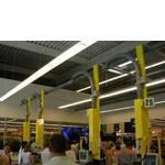 Пневмопочта для супермаркетов