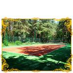 Тенисный корт санатория Конча Заспа