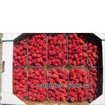 Сладкие ягоды малины. Просто вкуснятина