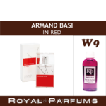 Духи Royal Parfums (рояль парфумс) Armand Basi «In Red» 35 мл, № 9