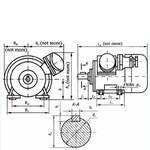 Электродвигатели трехфазные, асинхронные, взрывозащищенные (фото)