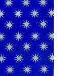 Упаковочная бумага, синяя