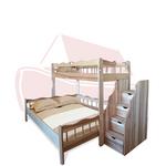 Ковчег - двухъярусная кровать с комодом