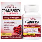 21st Century, Cranberry Plus Probiotic (фото)