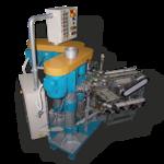 Автоматический комплекс для дозирования и закатывания сыпучих продуктов в жестяную банку (фото)