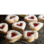 Печиво з пісочного тіста з варенням (фото)