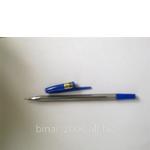 Синя кулькова ручка (фото)
