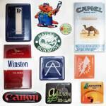 Обьемные наклейки с логотипом (печать)