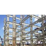 Монтаж конструкцій з металоблоку (фото)