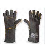 Перчатки крага черная