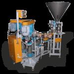 Автоматический комплекс для дозирования и закатывания сыпучих продуктов (фото)