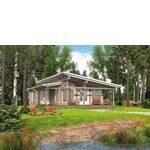 Дачні будинки з бруса (фото)