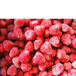 Велика заморожена полуниця оптом (фото)