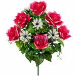 Букет штучних троянд Жозефіна, 52 см (фото)