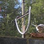 Кронштейн для монтажу спіральних бар'єрів купити (фото)