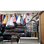 Сукні та тканини (фото)