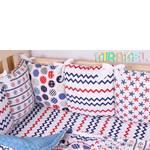 Бортики для ліжечка новонародженого (фото)