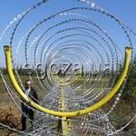Кронштейн для монтажу спіральних бар'єрів (фото)