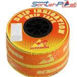 Капельная лента Uchkuduk с плоским эмиттером через 10 см купить (фото)