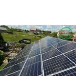 """Сетевая солнечная электростанция мощностью 15 кВт, """"Зеленый"""" тариф, с. Крюковщина,  Киевской области"""