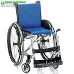 "Активная инвалидная коляска ""ADJ"" (OSD, Италия), хром"